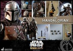 Hot Toys Star Wars Episode The Mandalorian 1/6th Scale Figure Sideshow IN STOCK