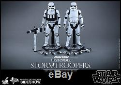 Hot Toys Star Wars Force Awakens First Order Stormtroopers 1/6 Scale Figure SET