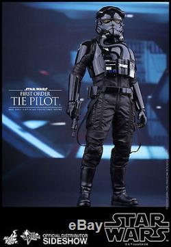 Hot Toys Star Wars Force Awakens First Order Tie FIghter Pilot 1/6 Scale Figure