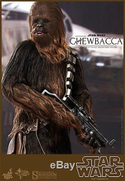 Hot Toys Star Wars Han Solo & Chewbacca Sixth Scale 1/6 Action Figures MMS 263