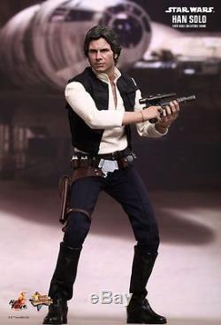 Hot Toys Star Wars Han Solo Harrison Ford MMS261 1/6 Scale Figure MISB