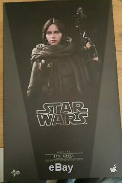 Hot Toys Star Wars MMS405 Rogue One Jyn Erso Sixth Scale Figure Deluxe Mint