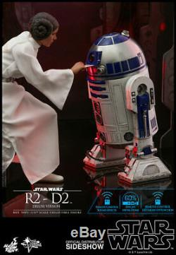 Hot Toys Star Wars R2-D2 Deluxe Version Diecast Action Figure 1/6 Scale MMS511