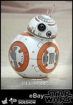Hot Toys Star Wars Rey & BB-8 1/6 Scale Figure Set Force Awakens Daisy Ridley