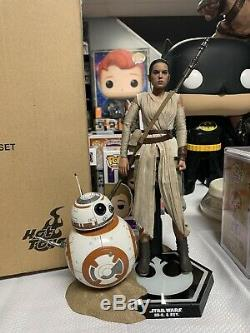 Hot Toys Star Wars Rey & Bb8 Force Awakens Mms337 Sideshow 1/6 Scale Figure