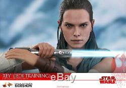 Hot Toys Star Wars Rey Jedi Training 1/6 Scale Figure Daisy Ridley Sideshow