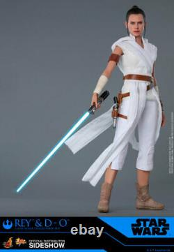 Hot Toys Star Wars Rise of Skywalker REY & D-O 1/6th Scale Figure Set MMS559