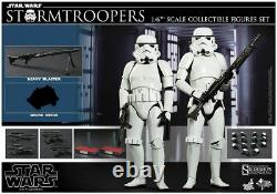 Hot Toys Star Wars STORMTROOPERS 1/6th Scale Figure EXCLUSIVE Set MMS268