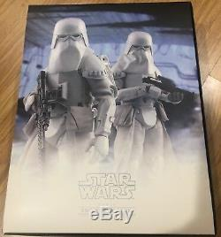 Hot Toys Star Wars Snow Troopers 16 Scale Acton Figure New In Box Vgm25