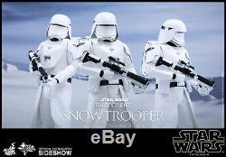 Hot Toys Star Wars The Force Awakens FIRST ORDER SNOWTROOPER Figure 1/6 Scale