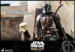 Hot Toys Star Wars The Mandalorian 16 Scale Figure TMS007 Sideshow IN STOCK