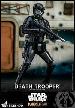 Hot Toys Star Wars The Mandalorian Death Trooper 1/6 Scale Figure With SHIPPER BOX