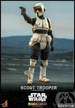 Hot Toys Star Wars The Mandalorian SCOUT TROOPER 1/6th Scale Figure TMS016