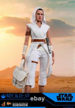 Hot Toys Star Wars The Rise of Skywalker MMS559 Rey and D-O 1/6 Scale Figure Set