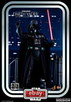 Hot Toys Star Wars V ESB 40th Anniversary Darth Vader 1/6 Scale Figure In Stock