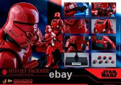 Hot Toys The Rise of Skywalker Sith Jet Trooper 1/6 Scale Action Figure