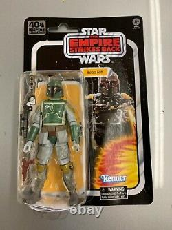In Hand Star Wars The Black Series 40th Anniversary 6 in Scale Boba Fett Figure