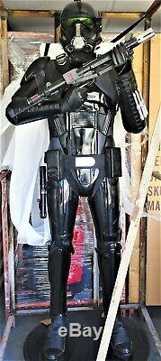 Lucasfilm Anovos Star Wars Rogue One 11 Scale Deathtrooper Statue Figure