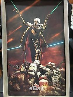 NEW STAR WARS SIDESHOW TOYS EXCLUSIVE GENERAL GRIEVOUS 1/6 Scale Figure