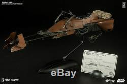 NEW Star Wars Sideshow Speeder Bike + Scout Trooper Sixth Scale Exclusive