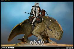 New! Dewback 16 Scale Sideshow Collectables Militaries Of Star Wars (sealed)