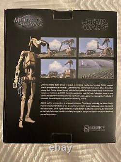 New Sideshow 1/6 Star Wars Battle Droid OOM-9 Commander Sixth Scale Figure