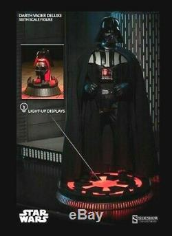 New! Sideshow Collectible Star Wars Darth Vader Hot Toys size 1/6 SCALE FIGURE