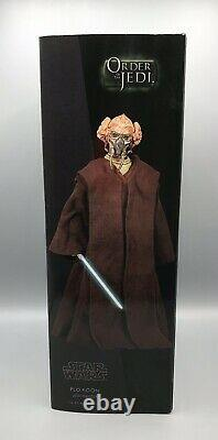 Plo Koon Exclusive Sideshow Collectibles Star Wars 12 16 Scale Action Figure