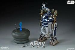R2-D2 Deluxe & C-3PO Sixth Scale Figures by Sideshow (Exclusive Versions!) NEW