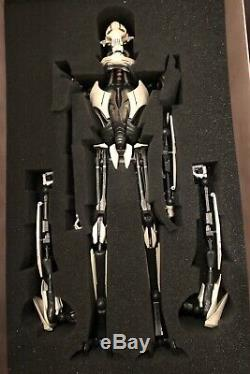 Rare HTF Sideshow Star Wars General Grievous 1/6 Scale Figure