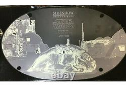 SIDESHOW COLLECTABLES MILITARIES OF STAR WARS DEWBACK 16 SCALE With Box & Shipper