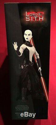 SIDESHOW COLLECTIBLES Star Wars ASAJJ VENTRESS EXCLUSIVE 1/6 Scale Figure NEW 12