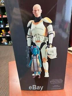 SIDESHOW EXCLUSIVE STAR WARS BOIL & WAXER With NUMA 1/6 SCALE FIGURES