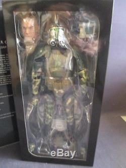 SIDESHOW EXCLUSIVE STAR WARS COMMANDER GREE 12 FIGURE SET 16 SCALE MIB