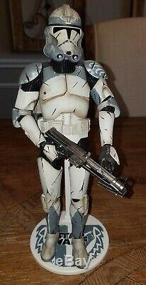 SIDESHOW Exclusive Star Wars WolfPack Clone Trooper 104th 1/6 Scale Figure 12 in