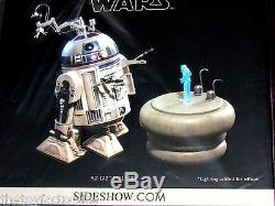 SIDESHOW R2-D2 DELUXE NEW UNOPENED SIXTH SCALE FIGURE STILL BAGGED GEM LIGHTS UP