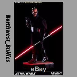SIDESHOW STAR WARS SITH LORD DARTH MAUL LEGENDARY 1/2 SCALE FIGURE STATUE BUST