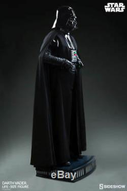 SIDESHOW Star Wars Darth Vader Life-Size Figure 11 Scale Statue NEW SEALED