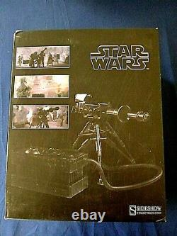 SIDESHOWSTAR WARS E-WEB HEAVY REPEATING BLASTER 16 Scale Figure Environment