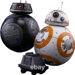 STAR WARS BB-8 & BB-9E 1/6th Scale Action Figure Set MMS442 (Hot Toys) #NEW
