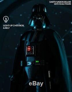 STAR WARS Darth Vader Deluxe 1/6 Scale Figure EX SIdeshow not Hot Toys