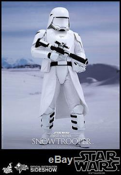 STAR WARS FORCE AWAKENS 1st ORDER SNOWTROOPER 2 PACK 1/6 SCALE FIGURE HOT TOYS