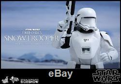 STAR WARS FORCE AWAKENS FIRST ORDER SNOWTROOPER 1/6 SCALE FIGURE HOT TOYS