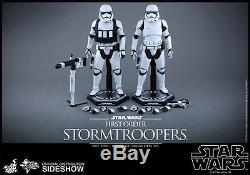 STAR WARS FORCE AWAKENS FIRST ORDER STORMTROOPER 1/6 SCALE FIGURE TWO-PACK SET