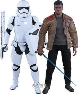 STAR WARS Finn & Riot Stormtrooper 1/6th Scale Action Figure MMS346 (Hot Toys)