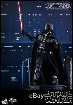 STAR WARS HOT TOYS DARTH VADER ESB MMS452 1/6 SCALE FIGURE with Brown Shipper