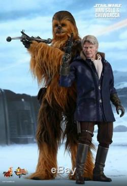 STAR WARS Han Solo & Chewbacca 1/6th Scale Action Figure Set MMS376 (Hot Toys)