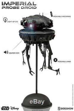 STAR WARS IMPERIAL PROBE DROID SIDESHOW COLLECTIBLES SIXTH SCALE FIGURE