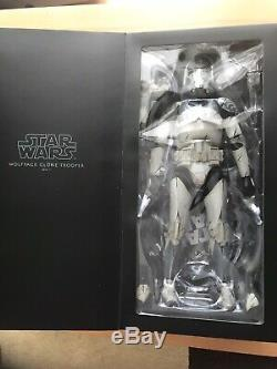 STAR WARS MILITARY WOLFPACK CLONE TROOPER DELUXE 16 SCALE FIGURE SIDESHOW 104th