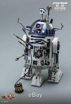 STAR WARS R2-D2 Deluxe Version 1/6th Scale Action Figure MMS511 (Hot Toys) #NEW